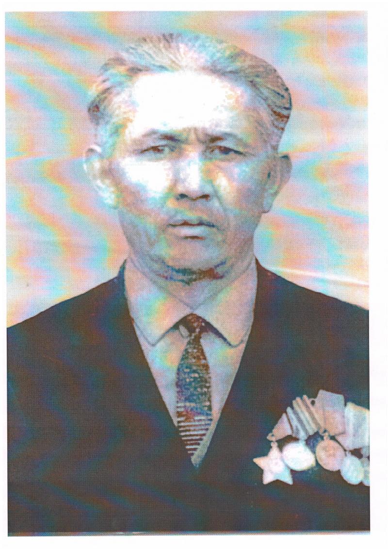 Жуманов Карибай Ахметович (1910 - 1985) - ветеран Великой