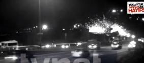 Взрыв в Стамбуле попал на видео
