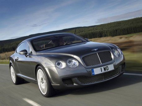 Bentley Continental. Фото с сайта autonavigator.ru