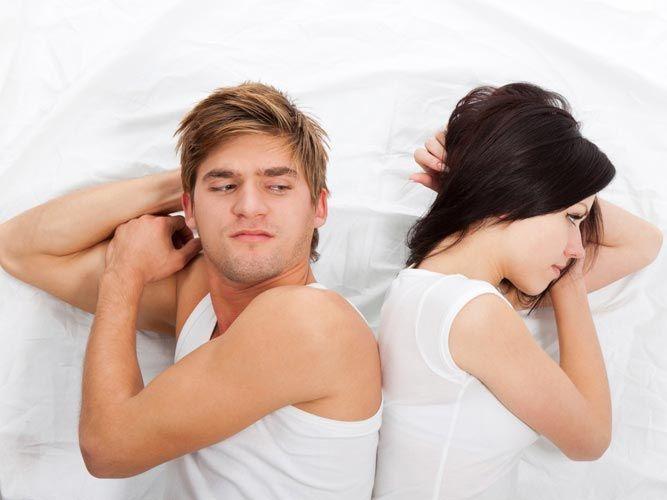 Мужчины нетерпеливы в сексе