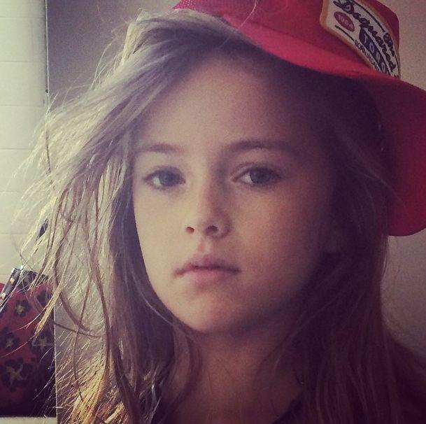 Девятилетняя москвичка названа самой красивой девочкой в мире.