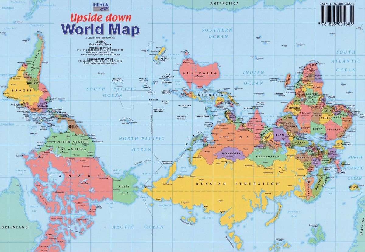 Новая политическая карта мира — во что она