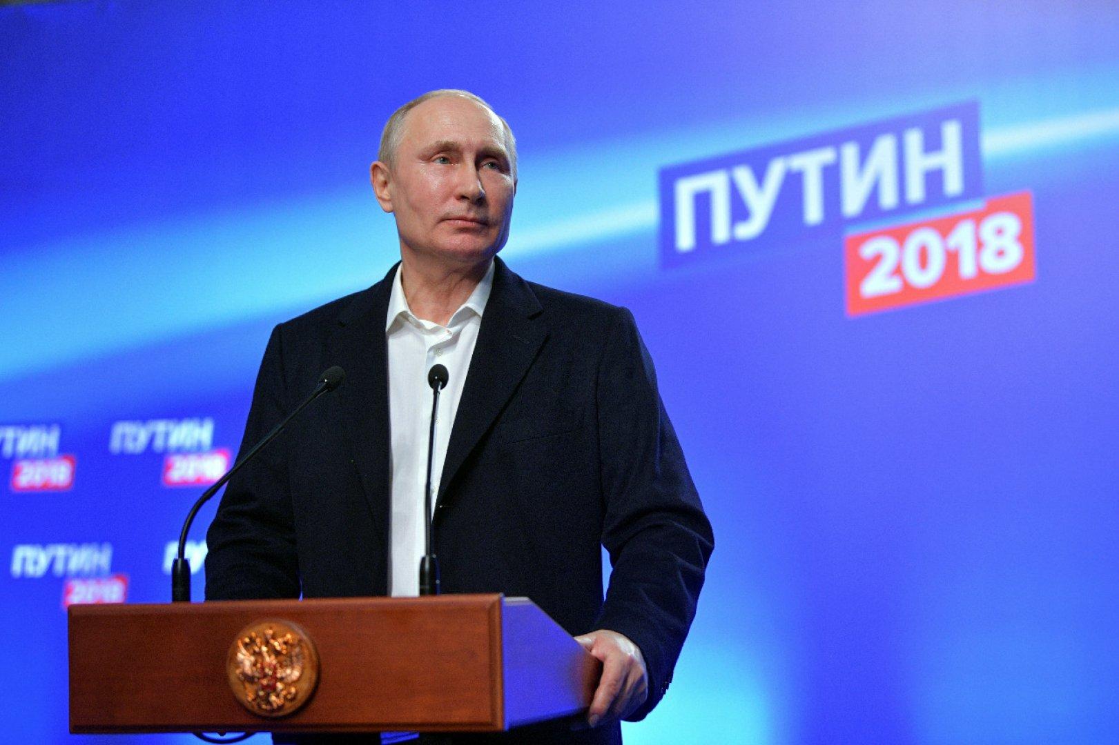 Президент Казахстана поздравил В.Путина спобедой навыборах