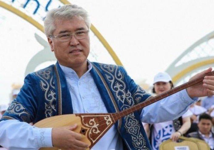 Арыстанбек Мухамедиулы. Фото Министерства культуры и спорта РК