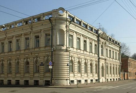 Здание посольства Испании в Москве.