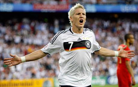 Футболист по немецки