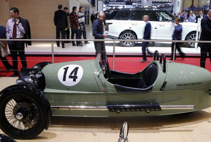 Morgan 3 Wheeler. ©REUTERS