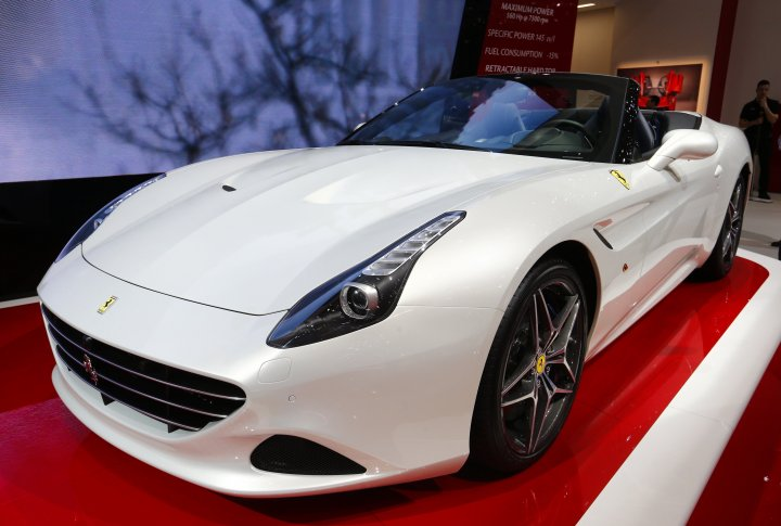 Ferrari California T. ©REUTERS