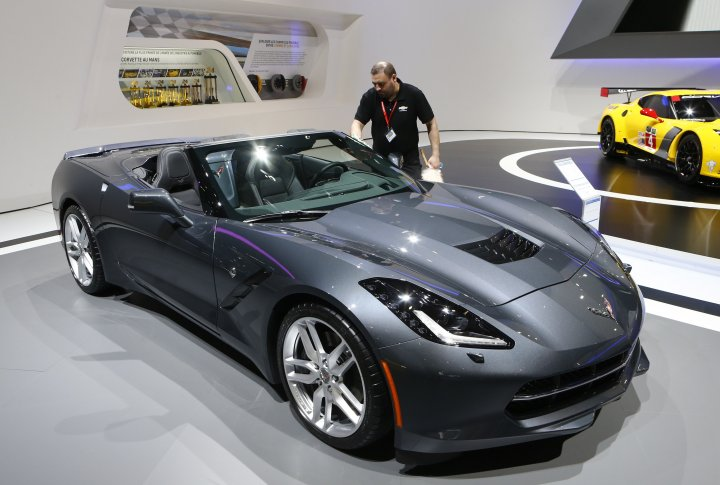 Chevrolet Corvette Stingray. ©REUTERS