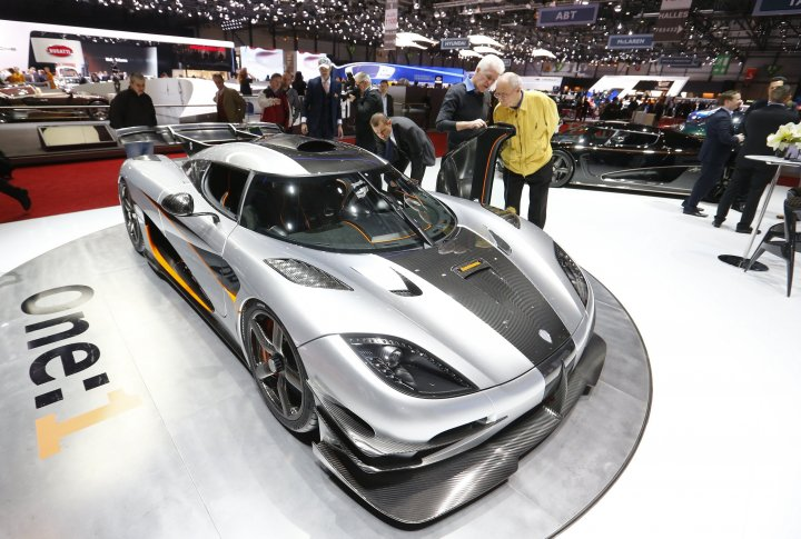 Koenigsegg Agera One. ©REUTERS