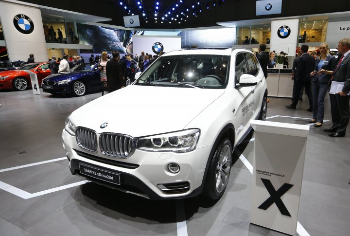 BMW X3 xDrive20d. ©REUTERS