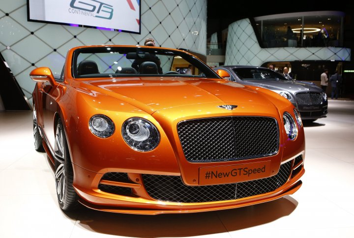 Bentley Continental GTSpeed. ©REUTERS