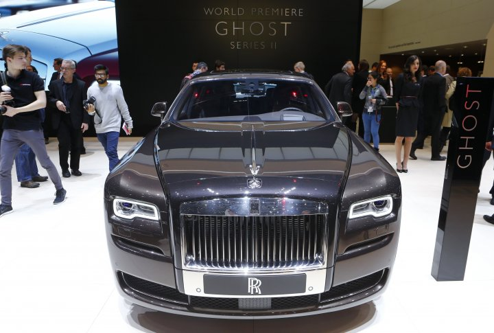 Rolls Royce Ghost II. ©REUTERS
