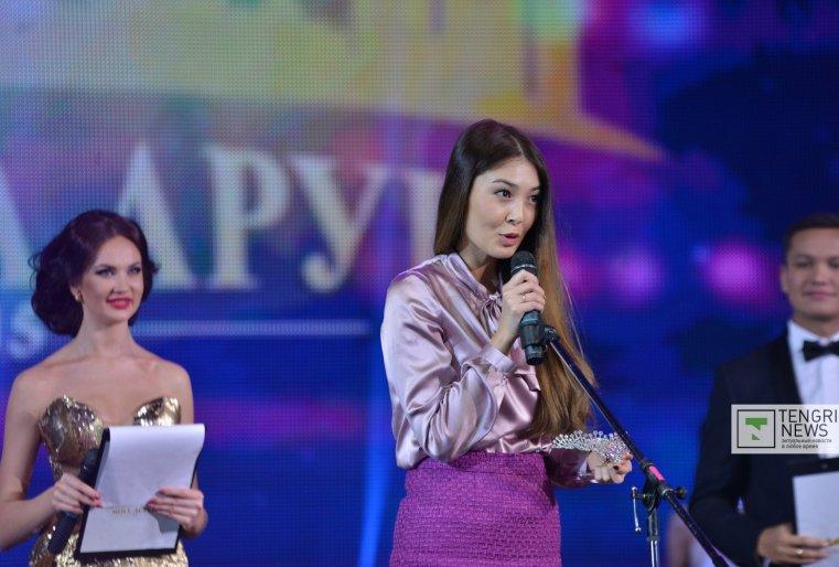 Член жюри, актриса Алия Ануарбек. Фото Турар Казангапов ©