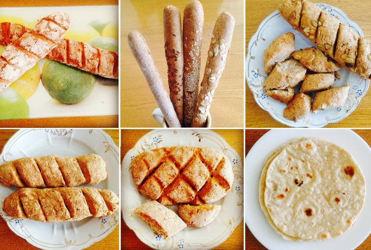 Хлеб она тоже печет сама. Говорит, что тот хлеб, который продается в магазинах, на самом деле вредный для здоровья. А она печет свои изделия так же, как и всю еду - особым способом, по особым рецептам.