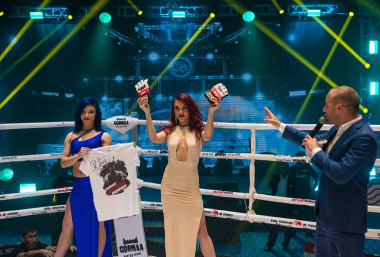 Федерация ММА Казахстана после каждой битвы проводит аукцион, где выставляются футболка и перчатки чемпиона. Деньги от аукциона идут в помощь малоимущим семьям или детям с тяжелыми заболеваниями.