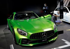 Mercedes AMG GT Roadster. © REUTERS