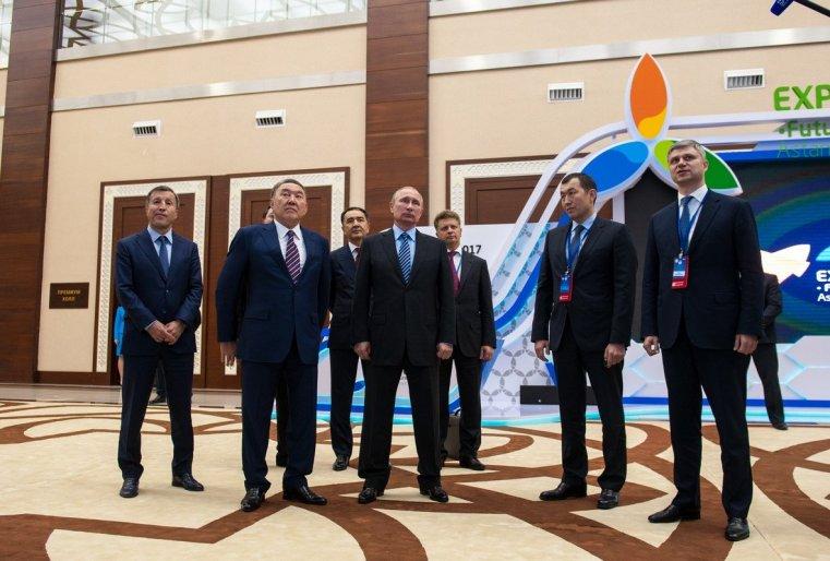Владимиру Путину рассказали про то, как идет подготовка к EXPO в Астане.