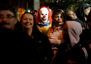 Greenwich Village Halloween Parade в Манхэттене, Нью-Йорк, США. REUTERS ©