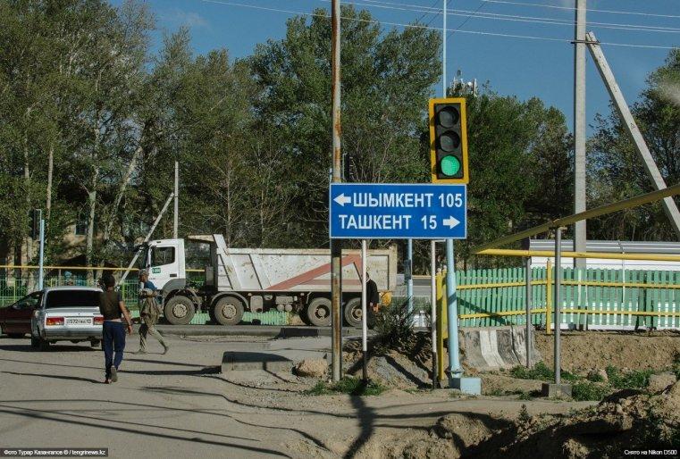 Этот приграничный с Узбекистаном казахстанский поселок находится в непосредственной близости от Ташкента.