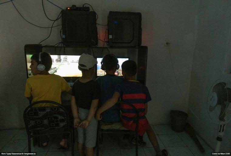 Увлечены они компьютерными играми.