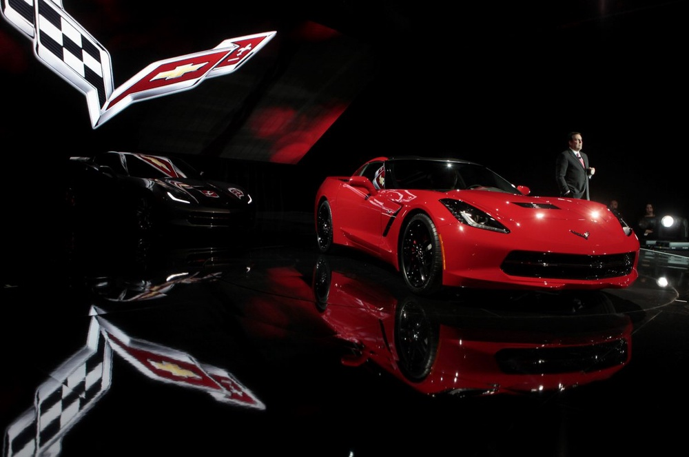 Chevrolet Corvette Stingray 2014. Фото REUTERS©