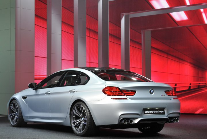 BMW 6 Series Gran Coupe. Фото REUTERS©