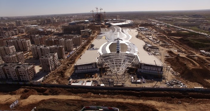 847e0007a12c Торговый центр размером с целый город появится в Астане в декабре - новости  Казахстана   Tengrinews
