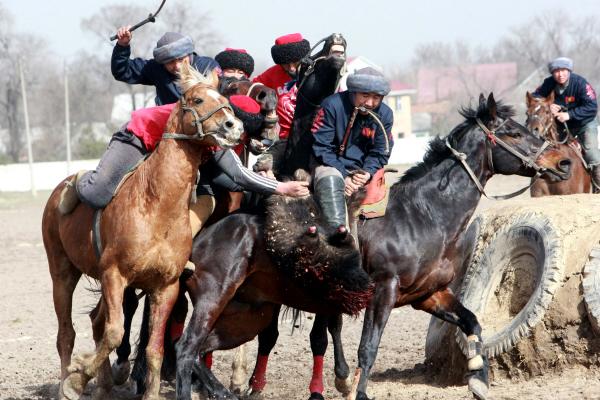 Кыргызстан идет на4 месте вмедальном зачете Всемирных игр кочевников