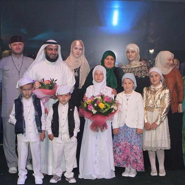 Фото детей ахмада кадырова