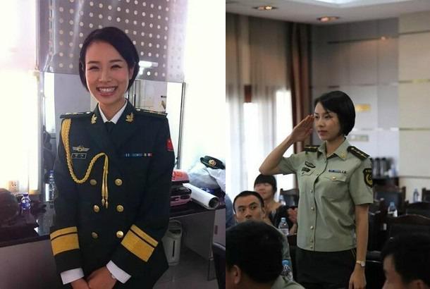 Китаянку признали самым красивым телохранителем вмире