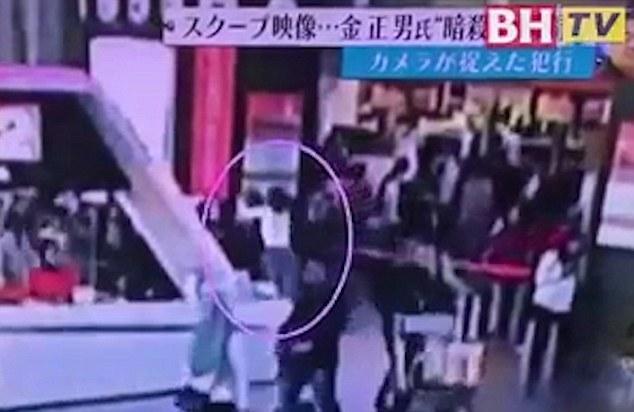 В Сети появилось видео нападения на Ким Чен Нама и последних минут его жизни