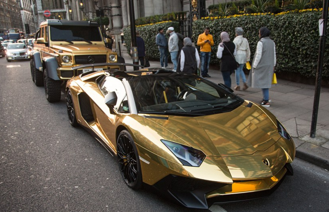 арабский золотой за ламборджини
