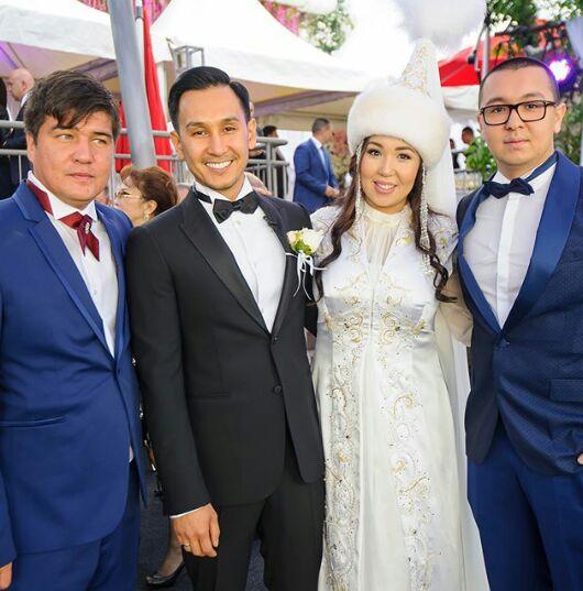 """Лидер """"All давай"""" опубликовал свадебные фото с Анель Баталовой"""