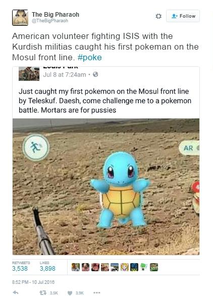 Игра Pokemon Go за неделю захватила мир