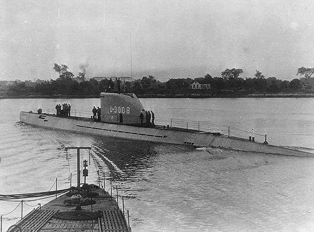 """""""Подводная лодка Гитлера"""" найдена спустя 73 года"""