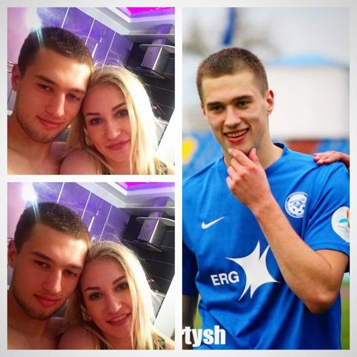 """Жена Романа Муртазаева эмоционально отметила его гол в ворота """"Кайрата"""""""