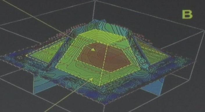 Вдревнем городе майя найдена пирамида внутри пирамиды