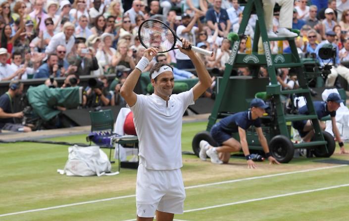 Федерер стал первым восьмикратным чемпионом Уимблдона