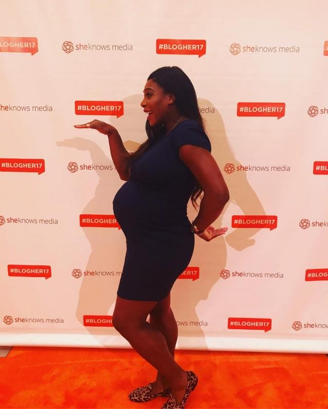 Снимки обнаженной беременной Серены Уильямс облетели СМИ