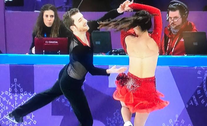 Стриптиз на зимней олимпиаде
