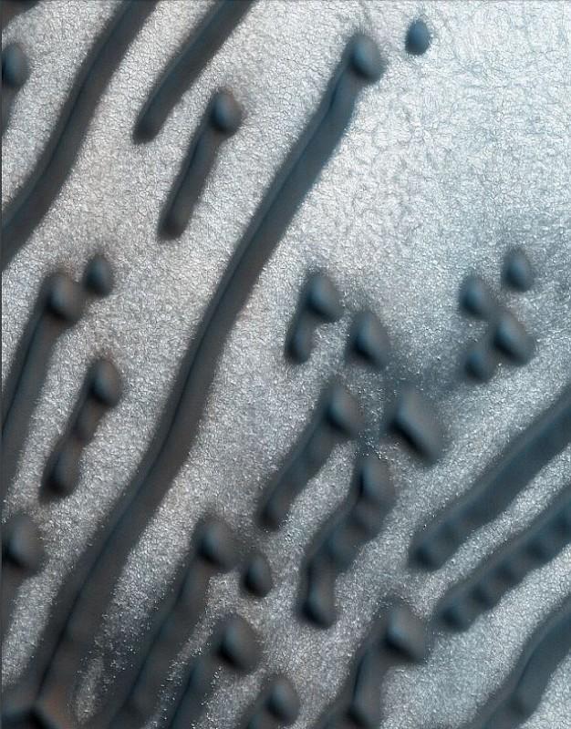 """Ученые расшифровали """"послание"""" на поверхности Марса"""