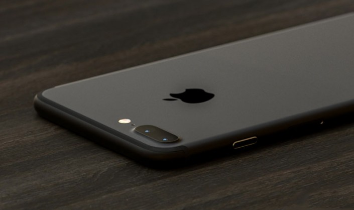 Вот как может выглядеть черный глянцевый iPhone 7