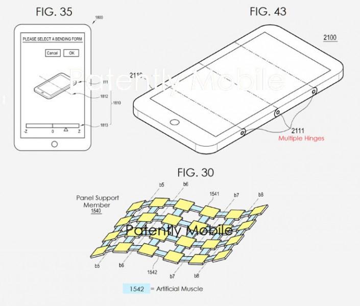 Samsung готовит первый серийный смартфон со складным экраном