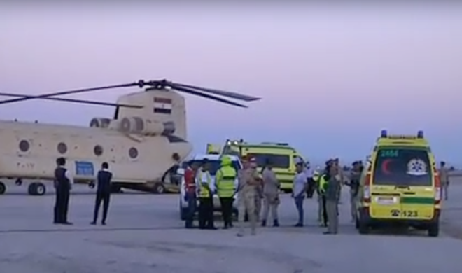 В Сети появились первые снимки с места крушения российского лайнера Airbus A321 в Египте