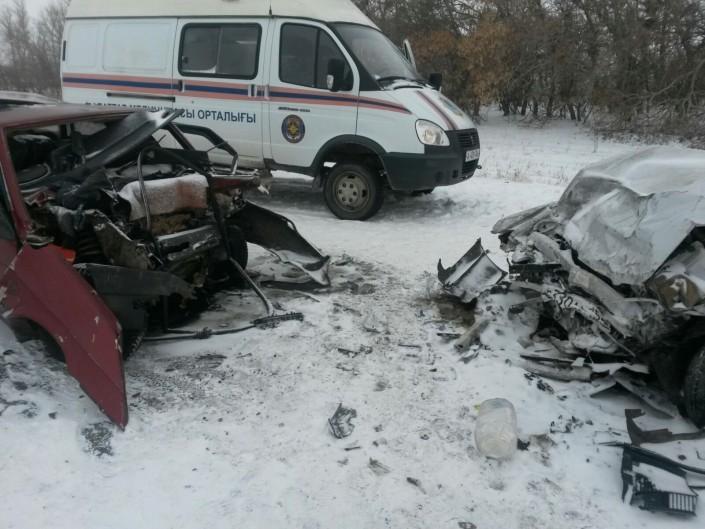 авария 23 ноября на трассе павлодар успенка