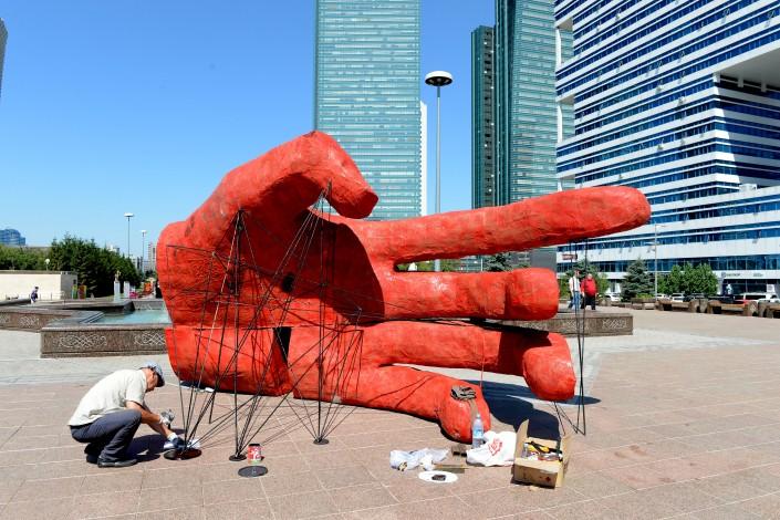 Работы участника Венецианской биеннале смогут увидеть астанчане на Art Fest