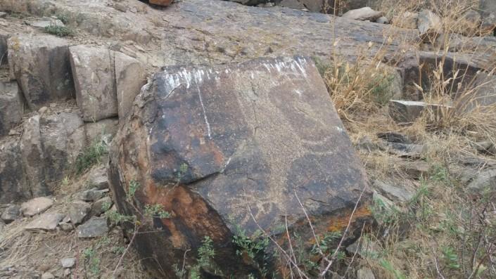 Разрушающиеся скалы с петроглифами близ Алматы хотят взять под защиту государства