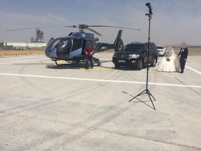 Организаторы полета объяснили видео с вертолетом и кортежем в ЮКО