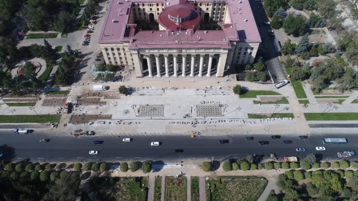 Когда полностью откроют движение на Абая - река Есентай в Алматы